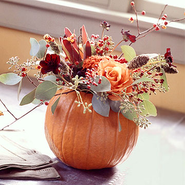 ... to Berry Vines » floral-table-decorations-for-a-fall-wedding-2